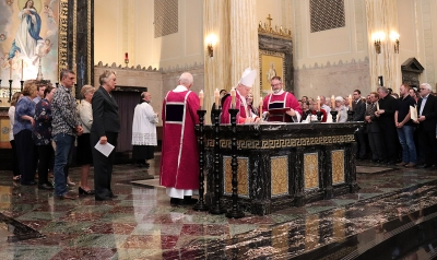 Candidates, catechumens participate in special liturgy