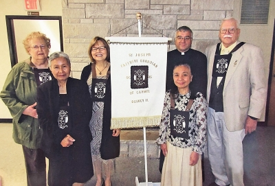Secular Discalced Carmelites hold ceremony