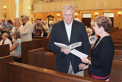 Couples married 50 years or more attend celebration Mass