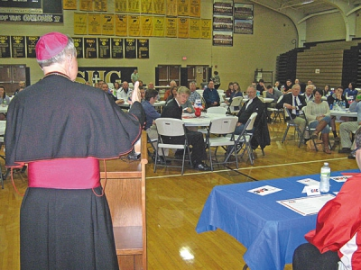 Senior Catholic high school student-athletes feted
