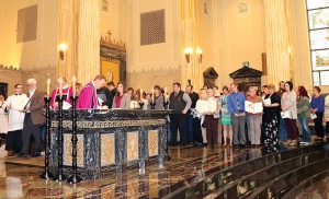 Candidates, catechumens take part in special liturgy