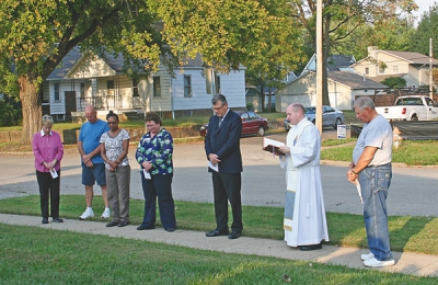 'Pope Francis' Habitat home build under way