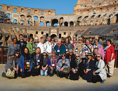 A pilgrimage: NCCW members travel to the Holy Land