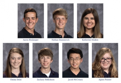 Father McGivney announces Illinois State Scholars