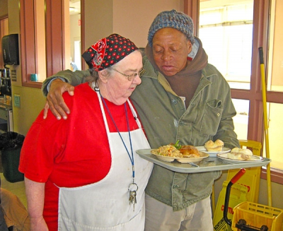 A corporal work of mercy: feed the hungry