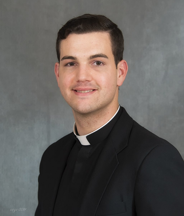 Father Trummer ordained to priesthood June 12