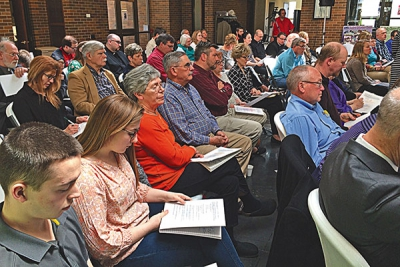 First of prayer and listening sessions held in diocesan cities