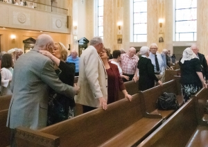 About 350 attend Mass for couples married 50 years or more