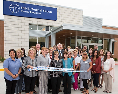Medical group opens new Mt. Zion facility
