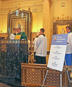 White Mass held for health care professionals
