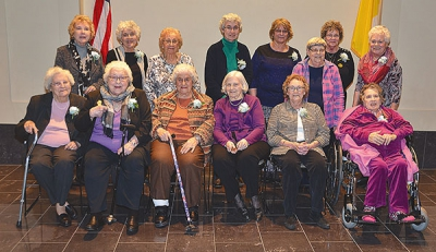 Twenty-seven Cathedral women honored for 'missions of service'