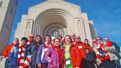 Historic D.C. blizzard plays havoc with diocesan, parish March for Life itineraries
