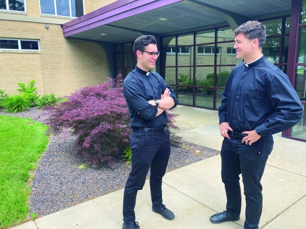 A tale of two brothers - Trummer brothers are now both priests for Springfield diocese