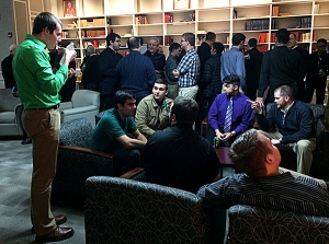 Seminarians gather and  recharge for new year