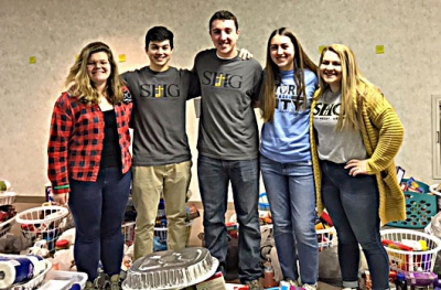 SHG Key Club, girls' swim team join in to feed the hungry