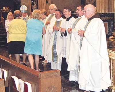 'Woman of distinction' honored at Mass