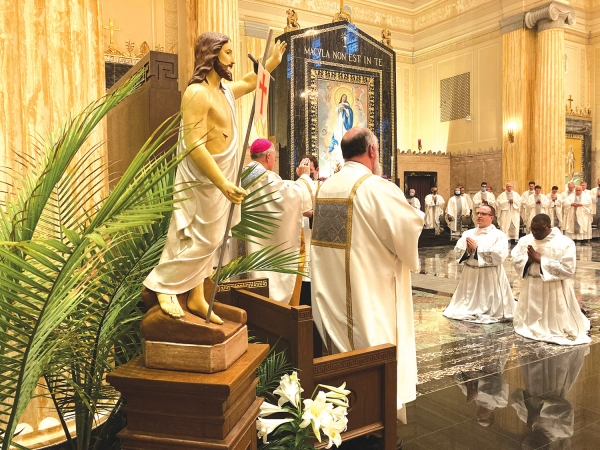 Two seminarians ordained to transitional diaconate