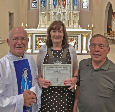 Mattoon woman receives rite with Secular Order of Discalced Carmelites
