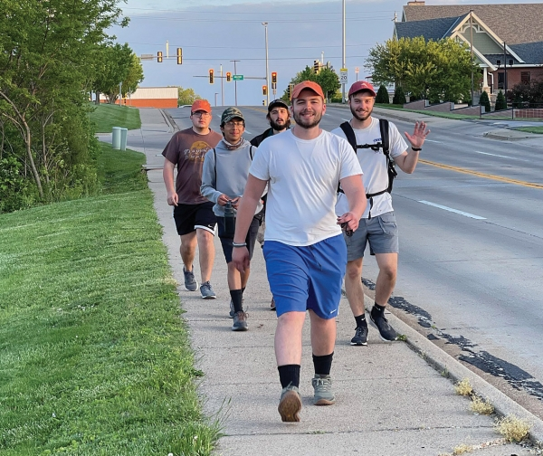 Thirty miles of walking to honor Quincy's Venerable Father Tolton
