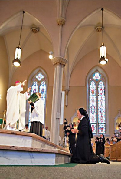 Bishop Paprocki sends sisters forth