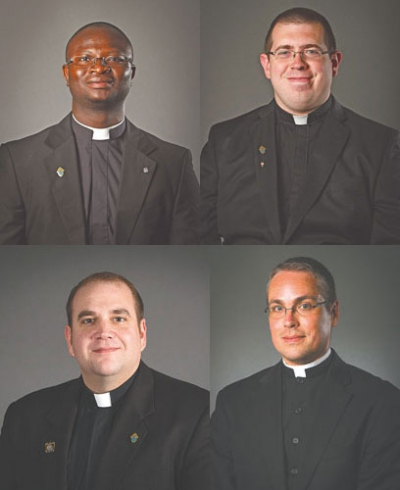 Four to be ordained to priesthood May 23 at Cathedral