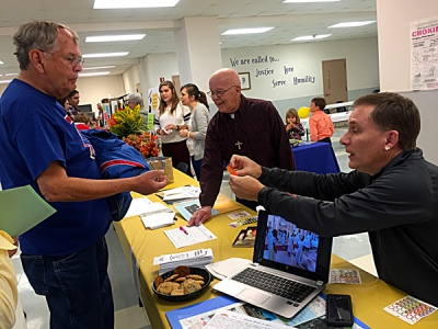 Parish ministry fair is invitation to discipleship
