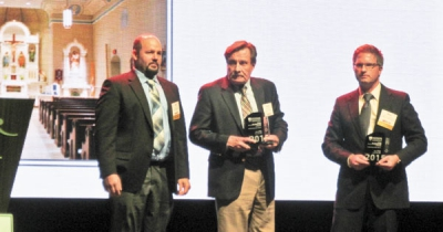 Church reconstruction project receives award