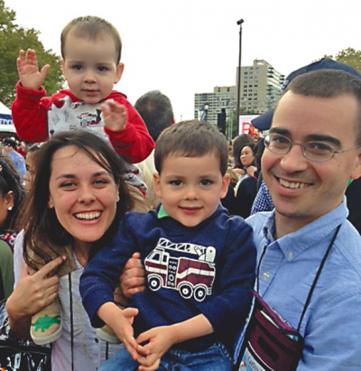 Family pilgrimage to 'Popedelphia'