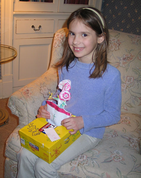 Eight-year-old Mikayla Hady's generosity has inspired fellow parishioners at Resurrection Parish in Illiopolis to contribute to the children's ward at St. John's Hospital in Springfield.