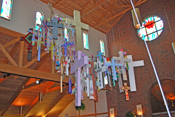 In Chatham Parish Sacred Space Reflects Joy Of Easter Season