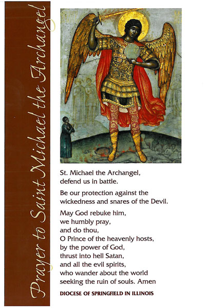 Prayer to St  Michael to be restored in diocese - Catholic Times