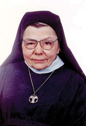 Sister M. Jolene Pachay, OSF, of the Hospital Sisters of St. Francis