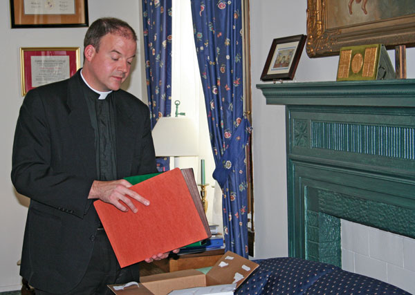 Peter Harman Servant and Steward Father Peter Harman appointed 23rd rector of